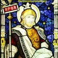 St Longinus Stained Glass Window