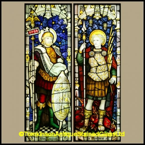 C. E Kempe & Co. Stained Glass Windows