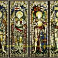 Stained glass Archangels windows