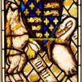 Heraldic Stained Glass Window