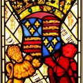Margaret Tudor Stained Glass Window