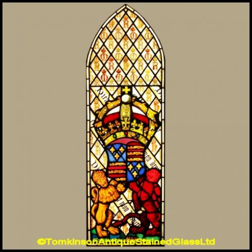 Thomas Willement Stained Glass Window