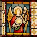 Stained Glass Angel
