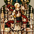 Antique Church Stained Glass Window