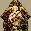 Angel Church Window