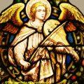 Musical Angel Church Window