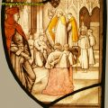 Ordination of a Priest Stained Glass