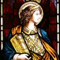 Pre Raphaelite Stained Glass