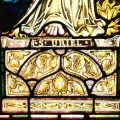 St Uriel Leaded Window
