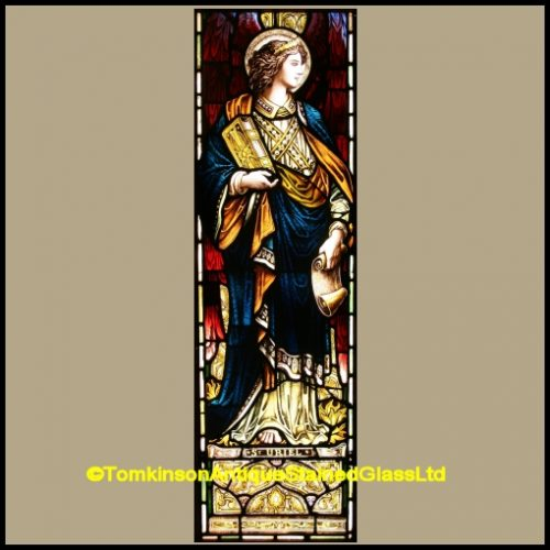 St Uriel Stained Glass Window
