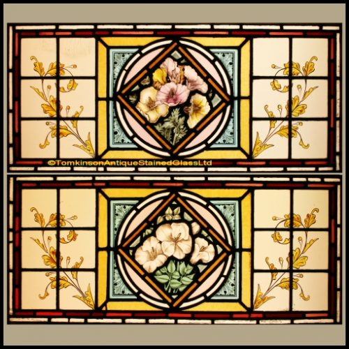 Victorian Stained Glass For Sale