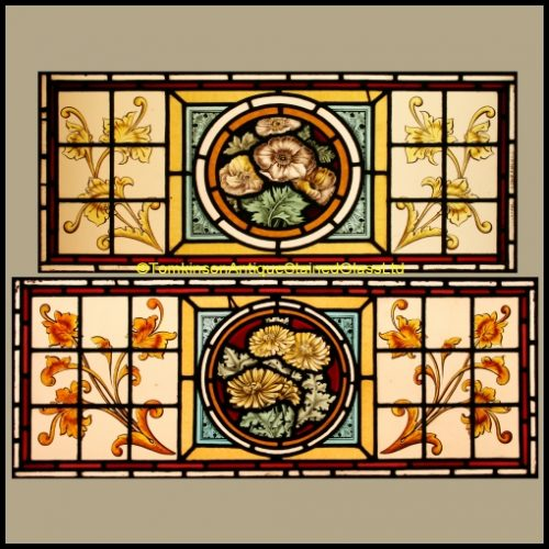 Antique Stained Glass Windows For Sale