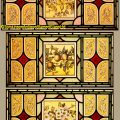 Salvaged Stained Glass For Sale