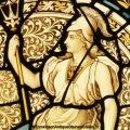 Britannia Stained Glass Window