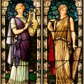 Franz.X Zettler Stained Glass Windows