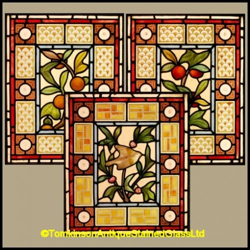 Arts & Crafts Stained Glass Windows