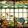 Edwardian Stained Glass Window