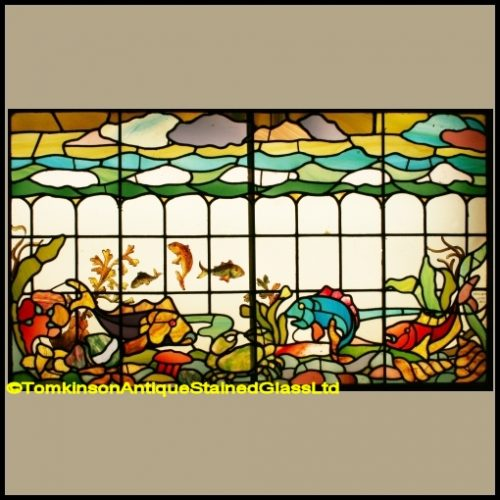Edwardian Stained Glass Window