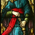 Pre Raphaelite Angels Stained Glass