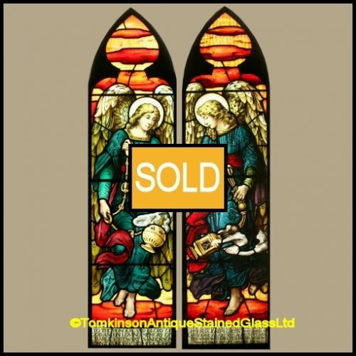 Pre-Raphaelite Stained Glass