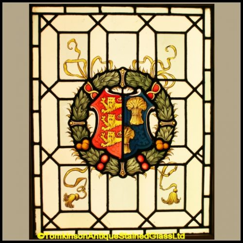 Coat of Arms of Chester Stained Glass