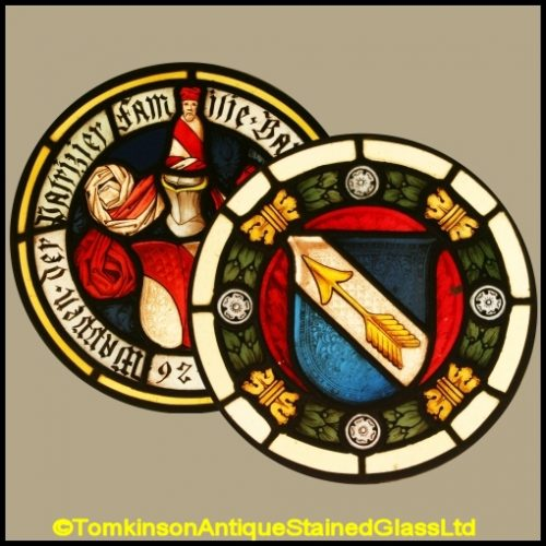 Armorial, Coat of Arms, Heraldic Stained Glass