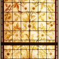 Christopher Dresser Stained Glass Window