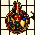 Armorial Stained Glass Window