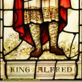 King Alfred the Great Stained Glass Window