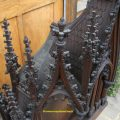 Carved Gothic Overmantel