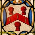 Sir Bartholomew Reed Stained Glass Coat of Arms