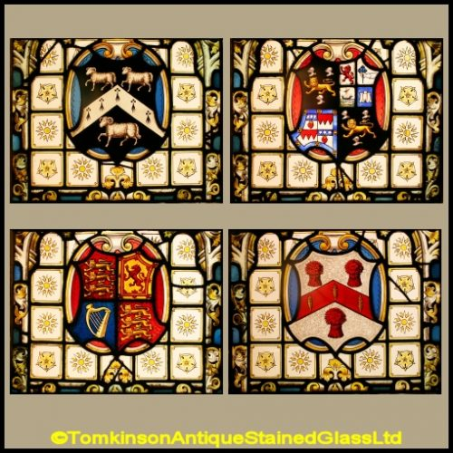 Crosby Hall Coats of Arms
