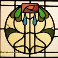 Mackintosh Stained Glass Window