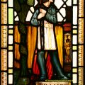 Joan of Arc Bernard Sleigh Stained Glass