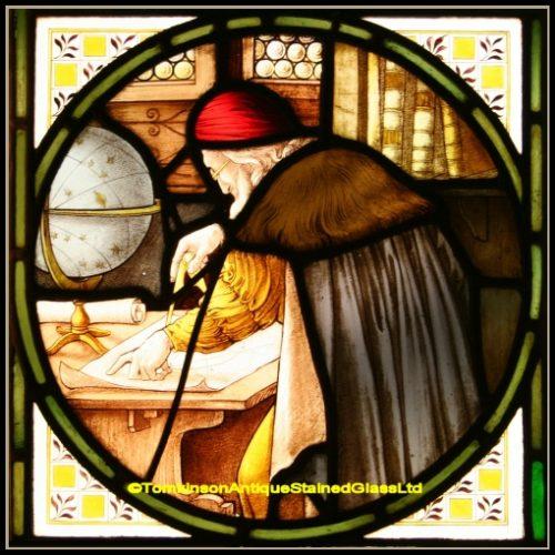 Shrigley & Hunt Stained Glass Window
