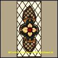 18th c Georgian Stained Glass Window