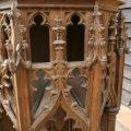 Carved Gothic Oak Alter