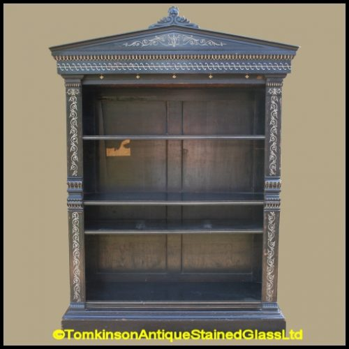 Aesthetic Movement Bookcase by T.H. Filmer & Sons